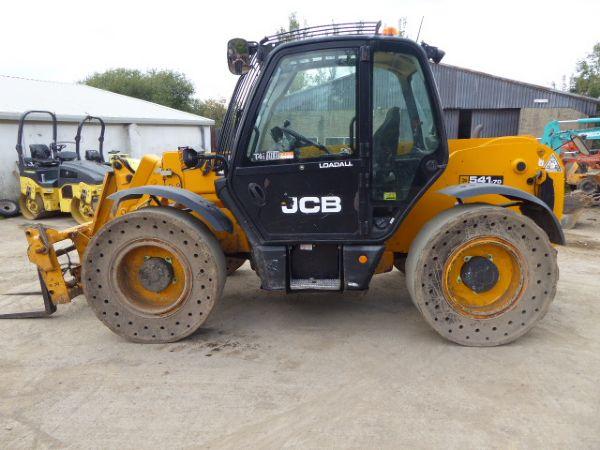 JCB 541-70 Wastemaster TELEHANDLER - Picture 3