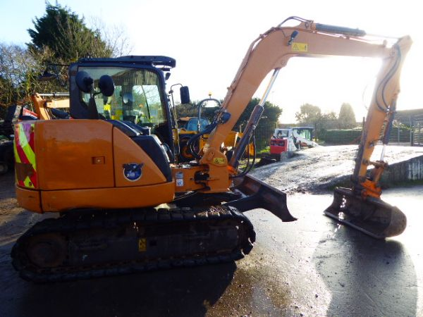 CASE CX80C EXCAVATOR - Picture 1