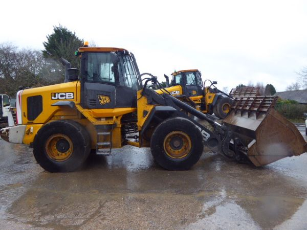 JCB 437HT Wastemaster WHEEL LOADER