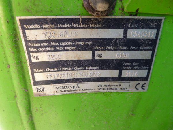 MERLO 32.6 PLUS TELEHANDLER - Picture 7