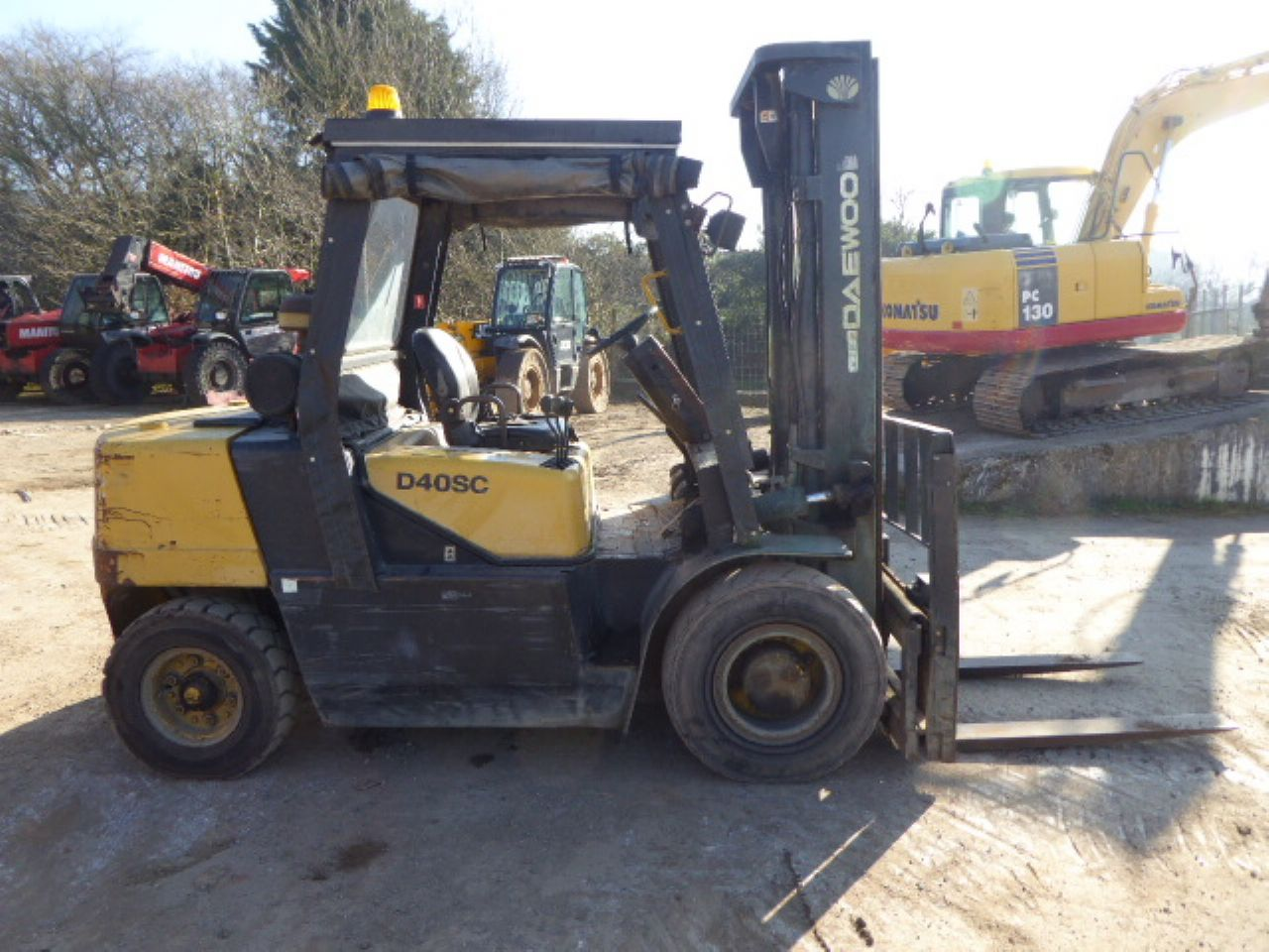 Gibbings and Sons | DAEWOO D40SC-2 FORKLIFT FOR SALE