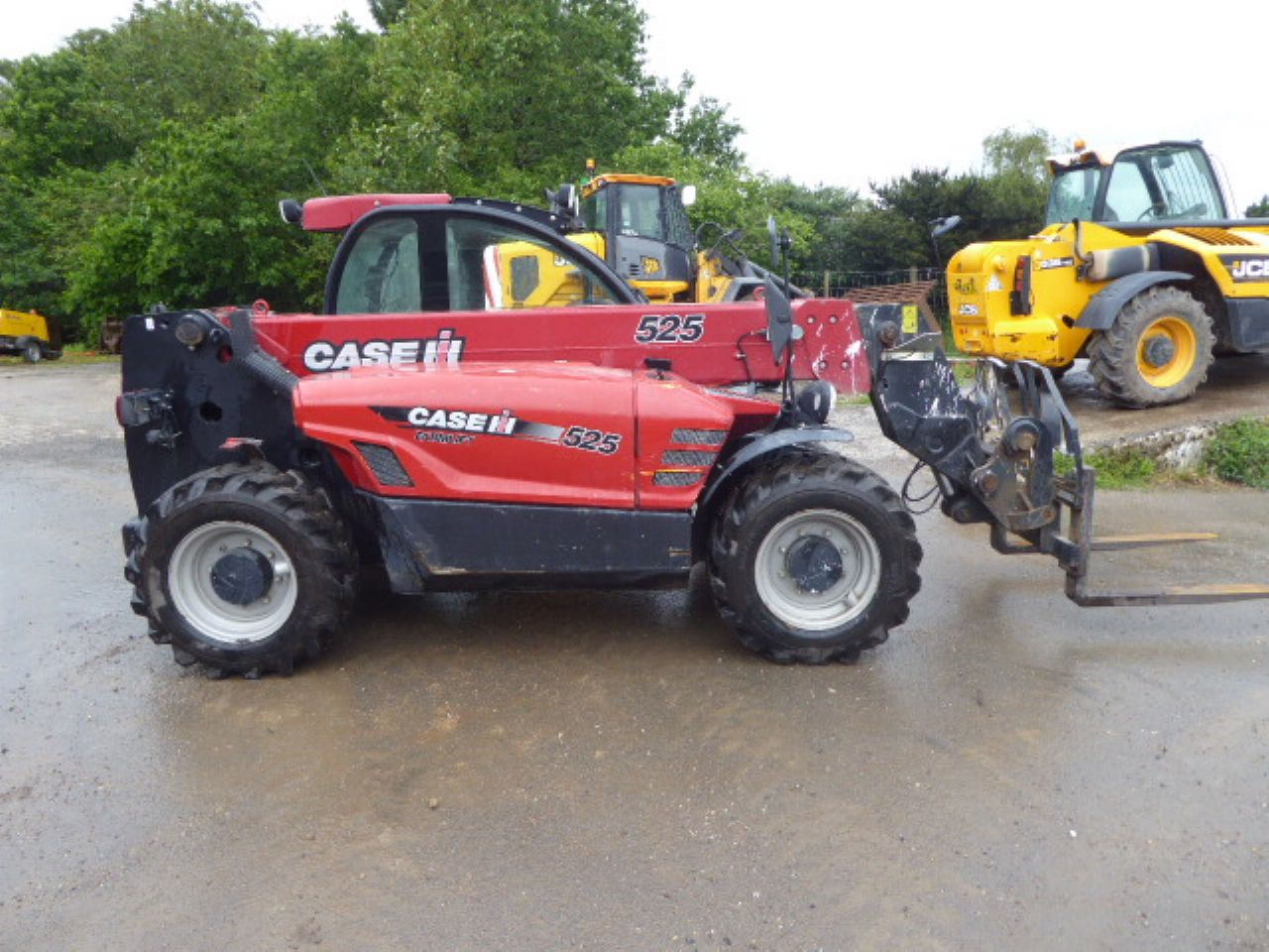 CASE 525 FARMLIFT TELEHANDLER - Picture 1
