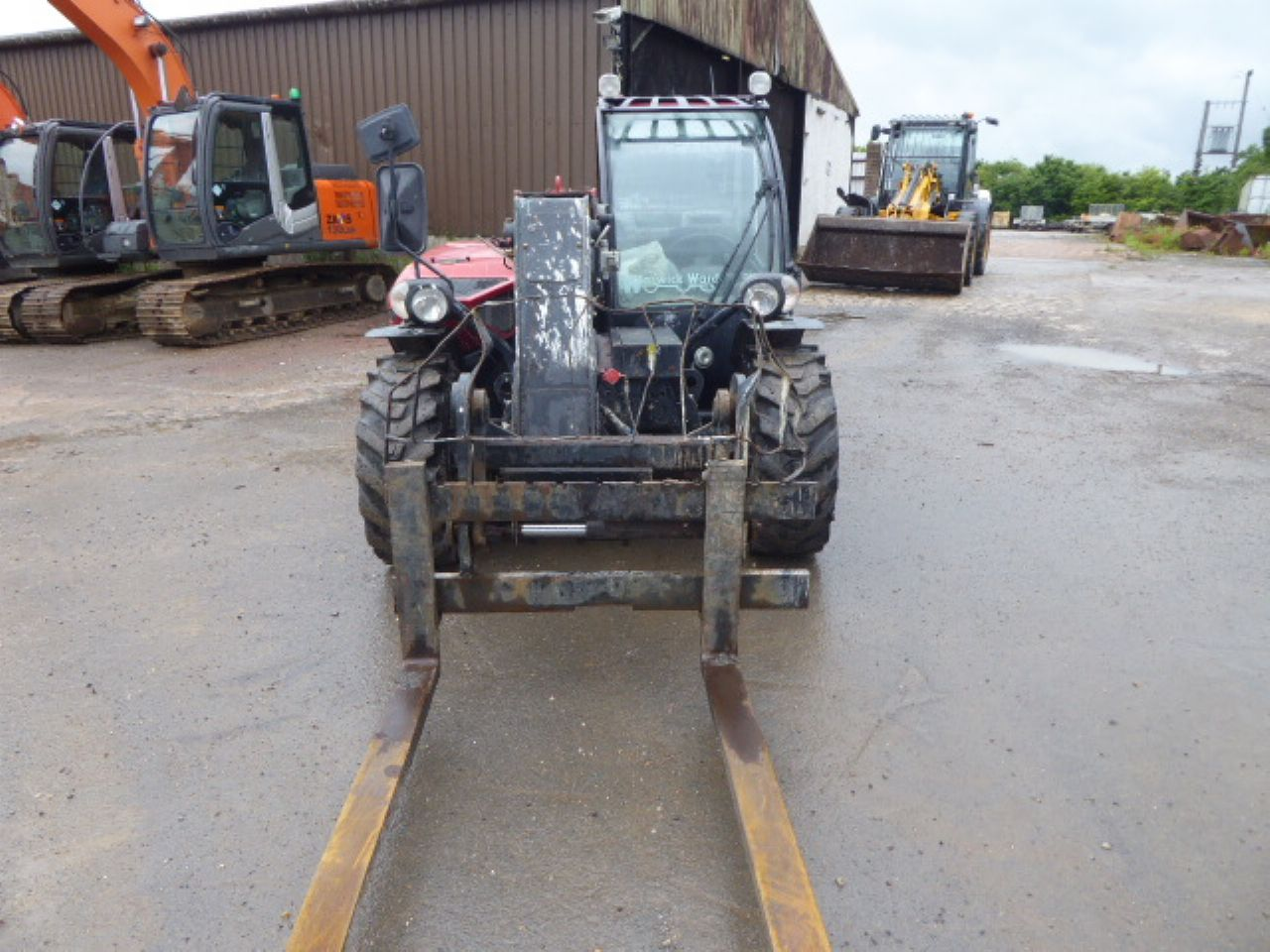 CASE 525 FARMLIFT TELEHANDLER - Picture 4