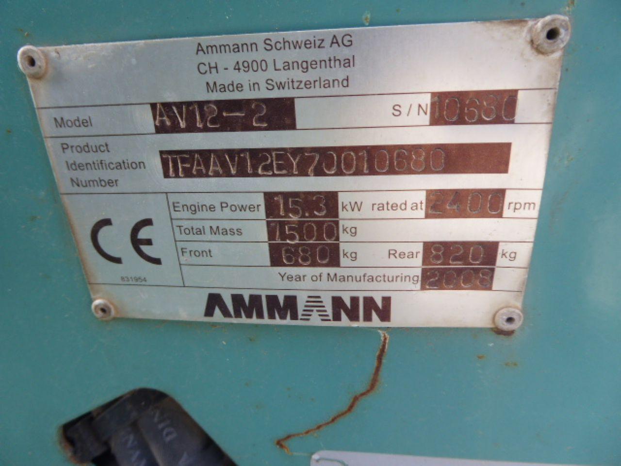 AMMANN AV12-2 ROLLER - Picture 4