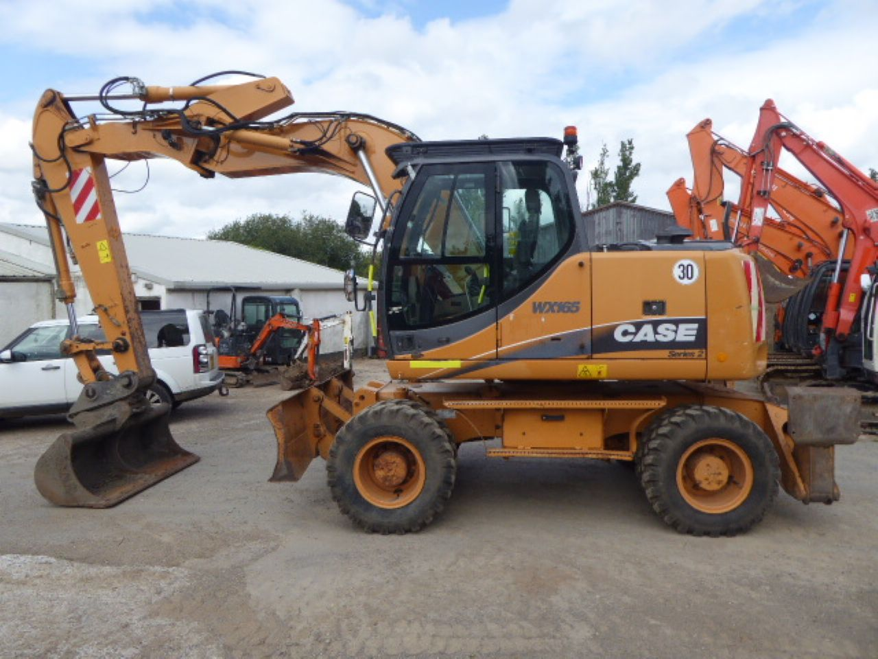 CASE WX165 WHEELED EXCAVATOR - Picture 3