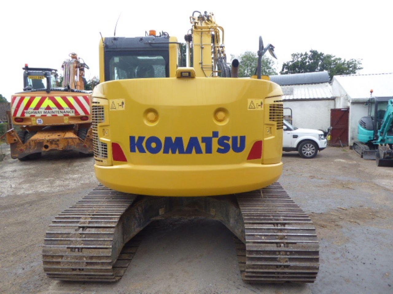 KOMATSU PC138US-10 EXCAVATOR - Picture 2