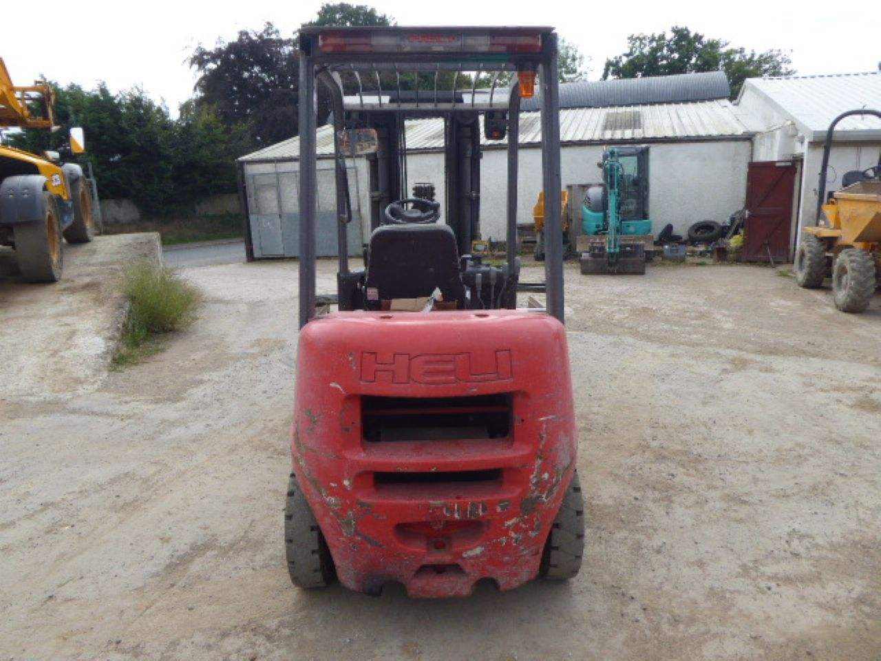 HELI FD20G DIESEL FORKLIFT - Picture 2