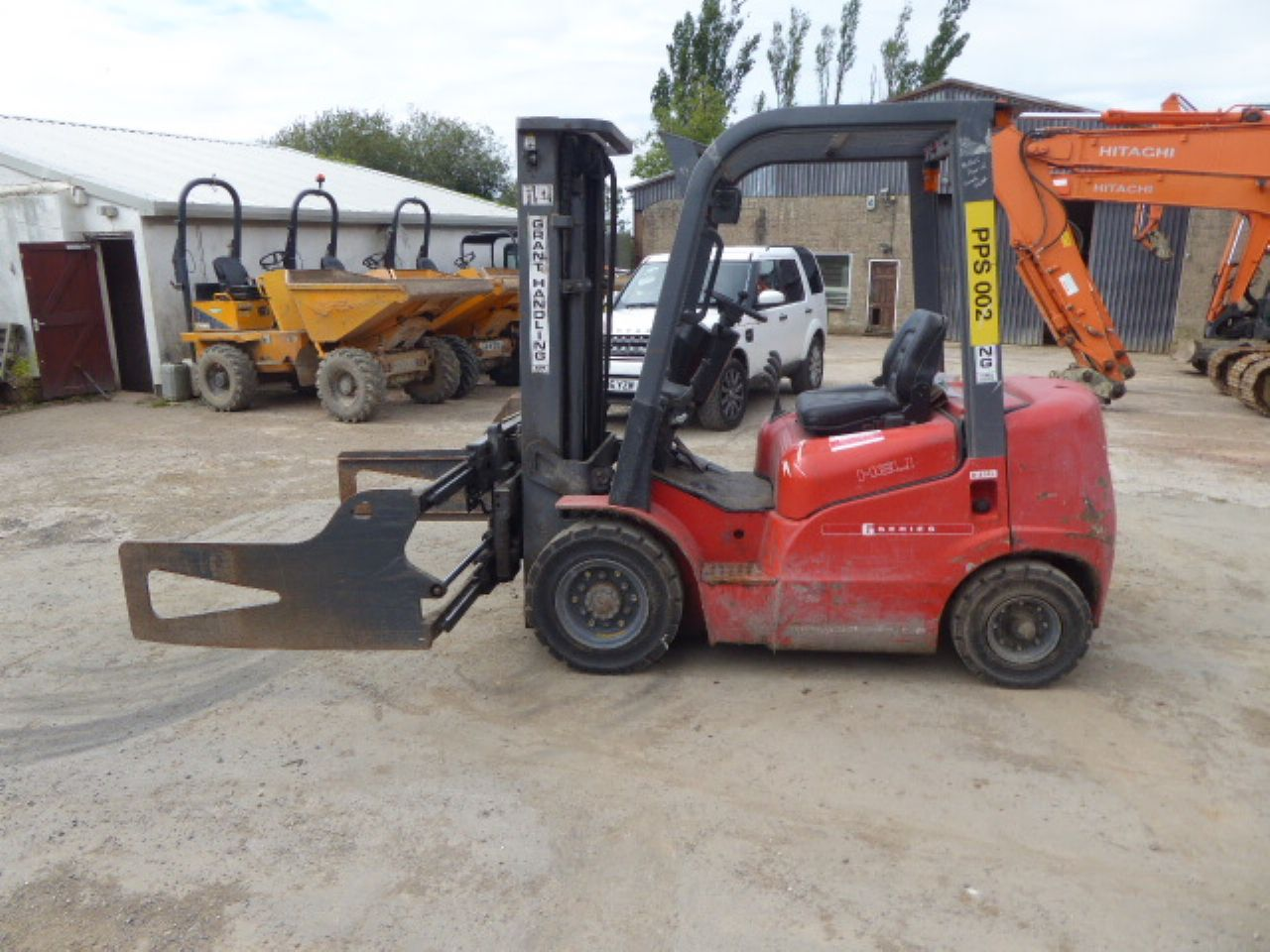 HELI FD20G DIESEL FORKLIFT - Picture 3