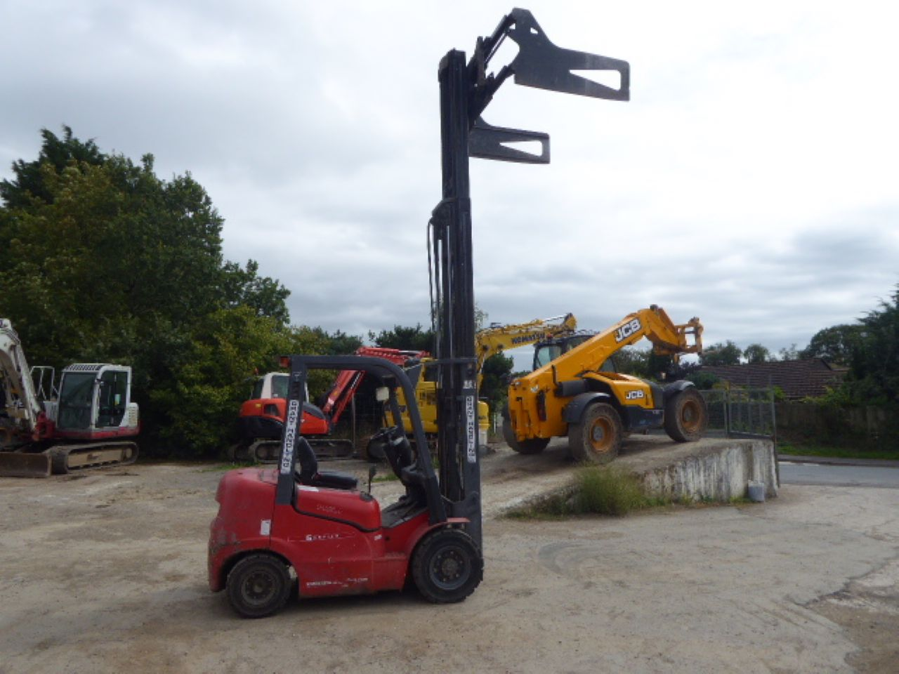 HELI FD20G DIESEL FORKLIFT - Picture 5