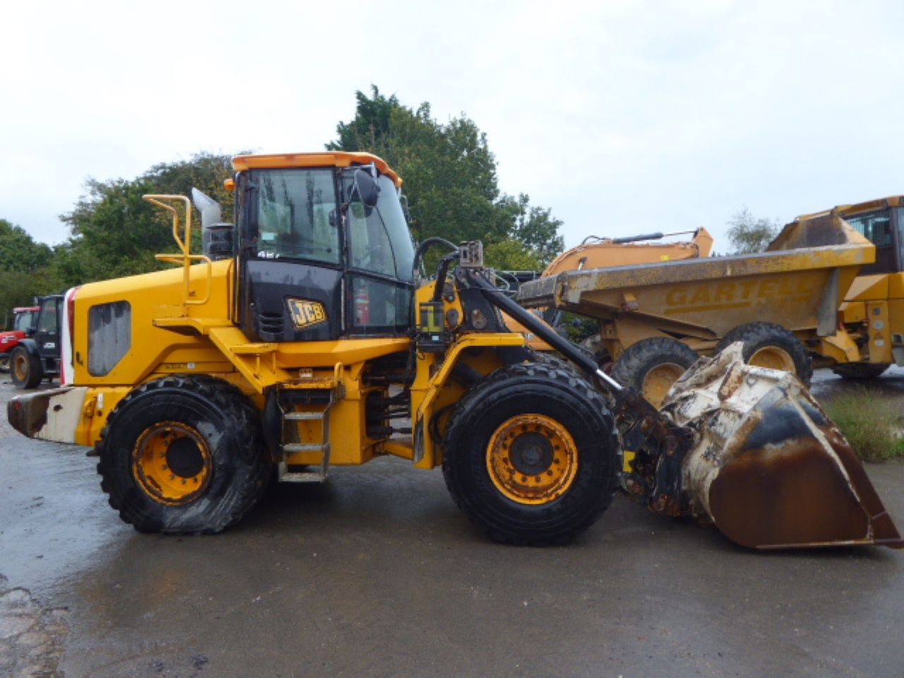 JCB 437 HT WHEEL LOADER