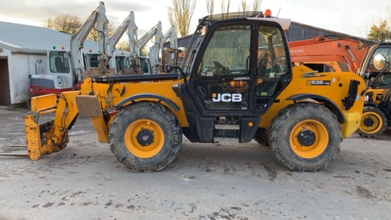 JCB 535-140 TELEHANDLER - Picture 3