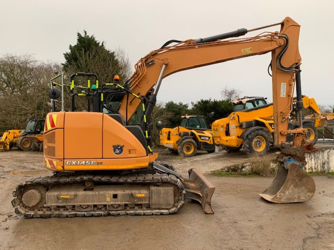 CASE CX145C SR EXCAVATOR - Picture 1