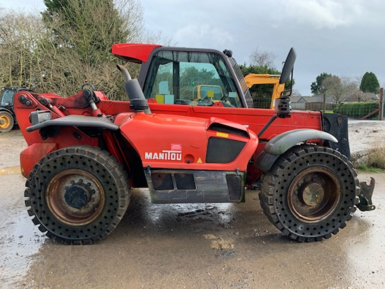 MANITOU MLT 845-120 TELEHANDLER - Picture 1