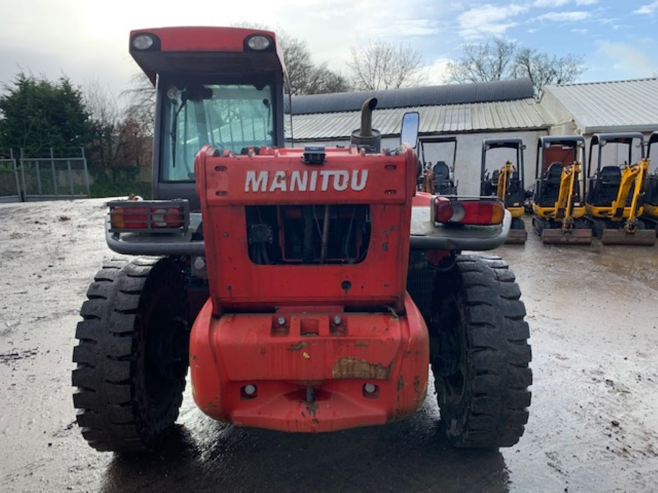 MANITOU MLT 845-120 TELEHANDLER - Picture 2