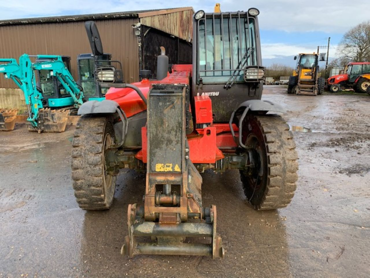 MANITOU MLT 845-120 TELEHANDLER - Picture 4