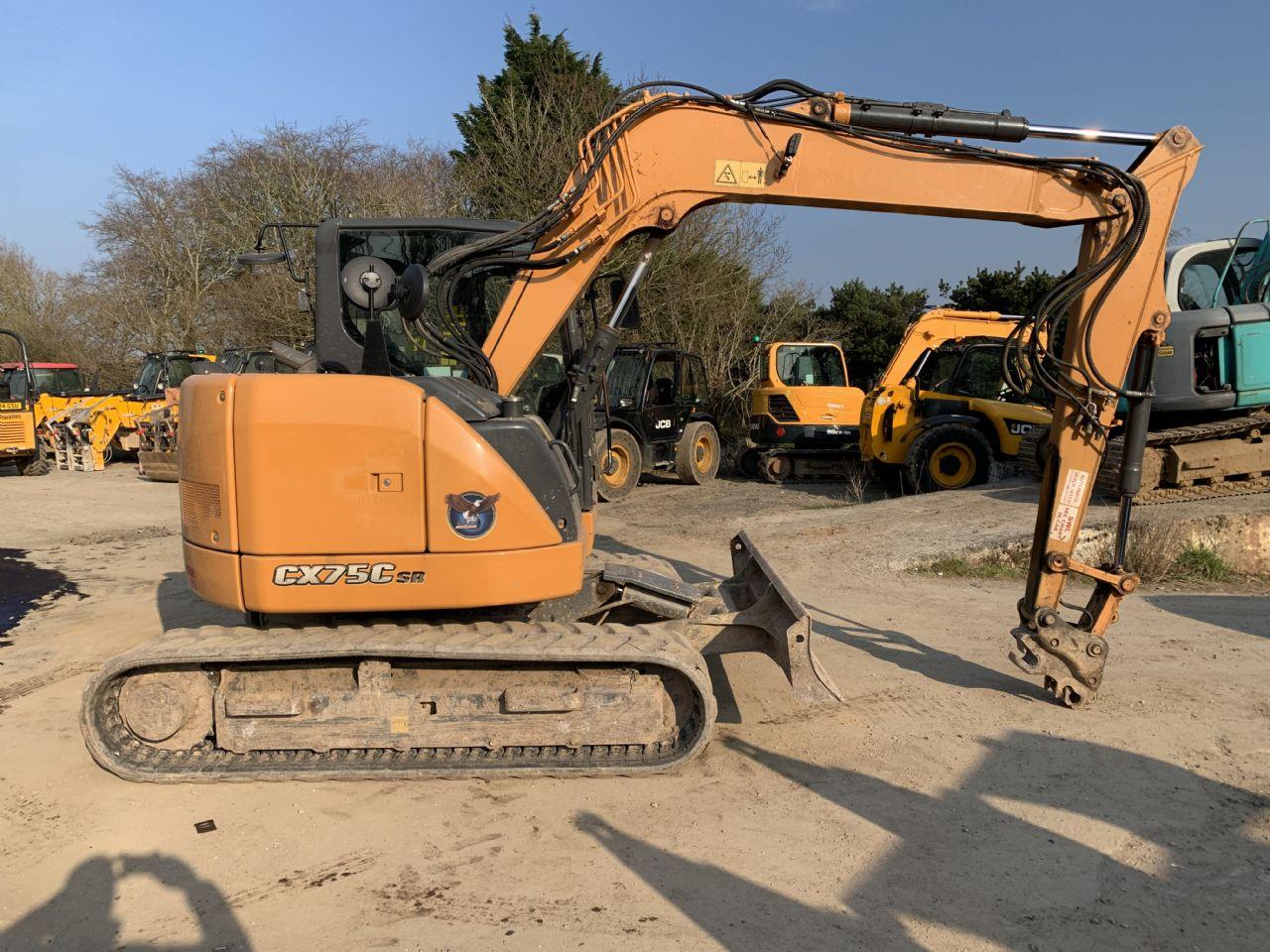 CASE CX75C SR EXCAVATOR - Picture 1