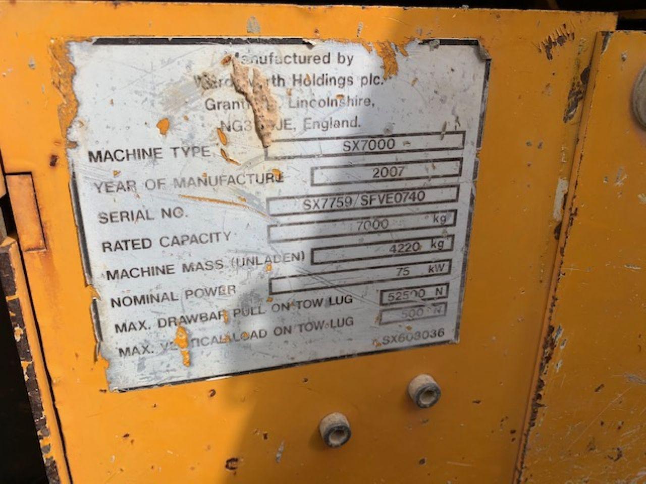 BARFORD SX7000 DUMPER - Picture 5