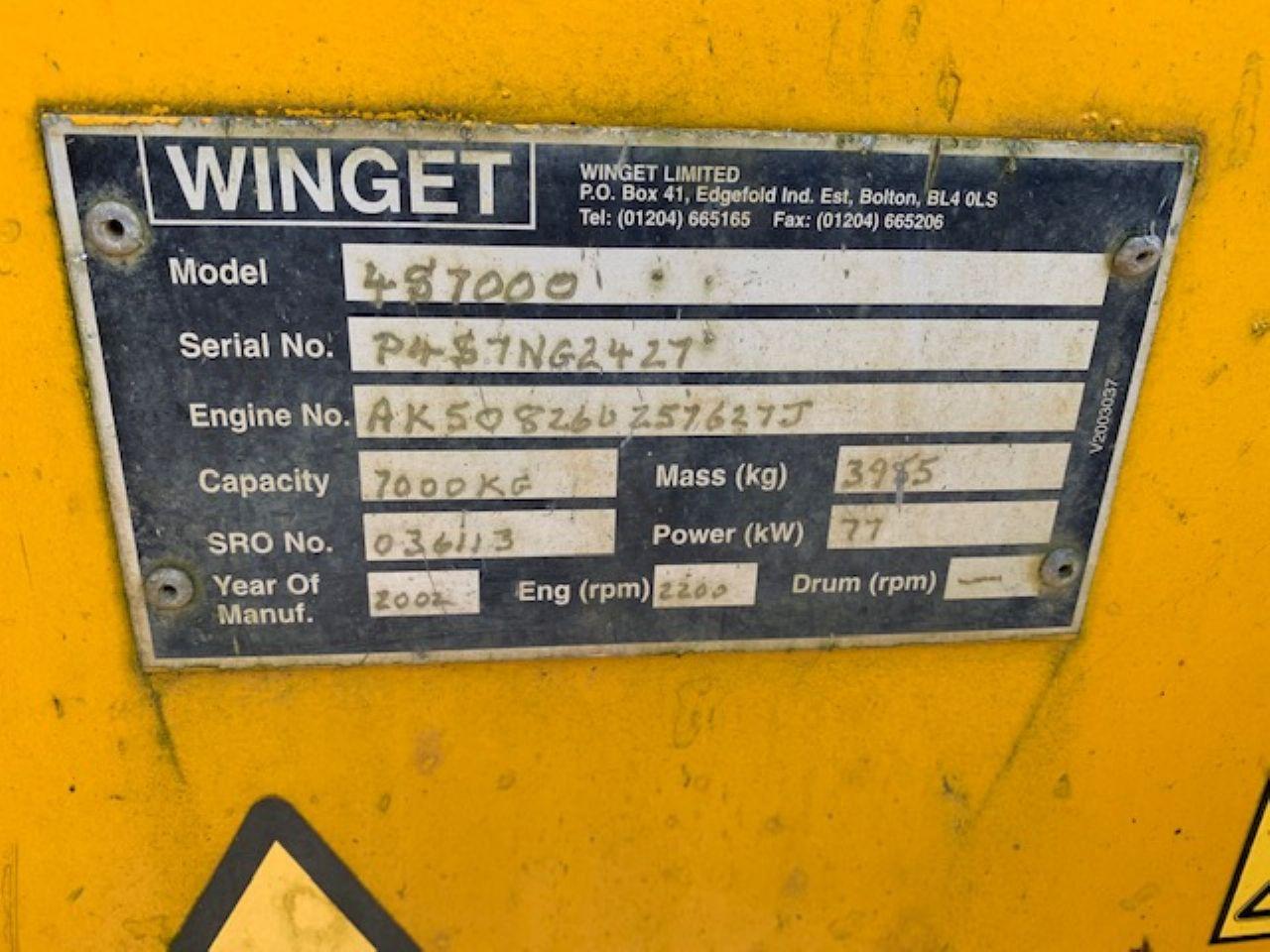 WINGET 4S7000 DUMPER - Picture 4