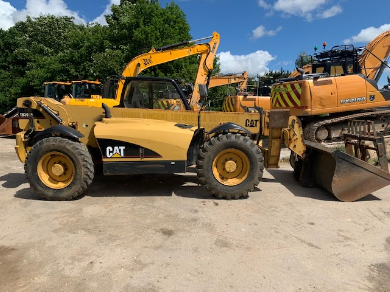 CAT TH360B TELEHANDLER - Picture 1