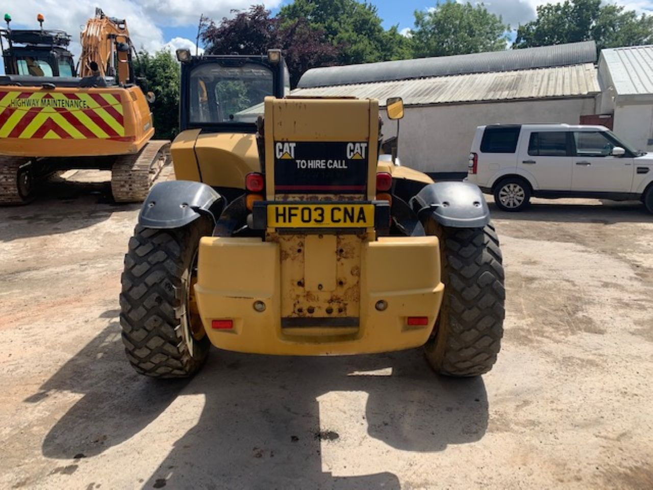 CAT TH360B TELEHANDLER - Picture 2