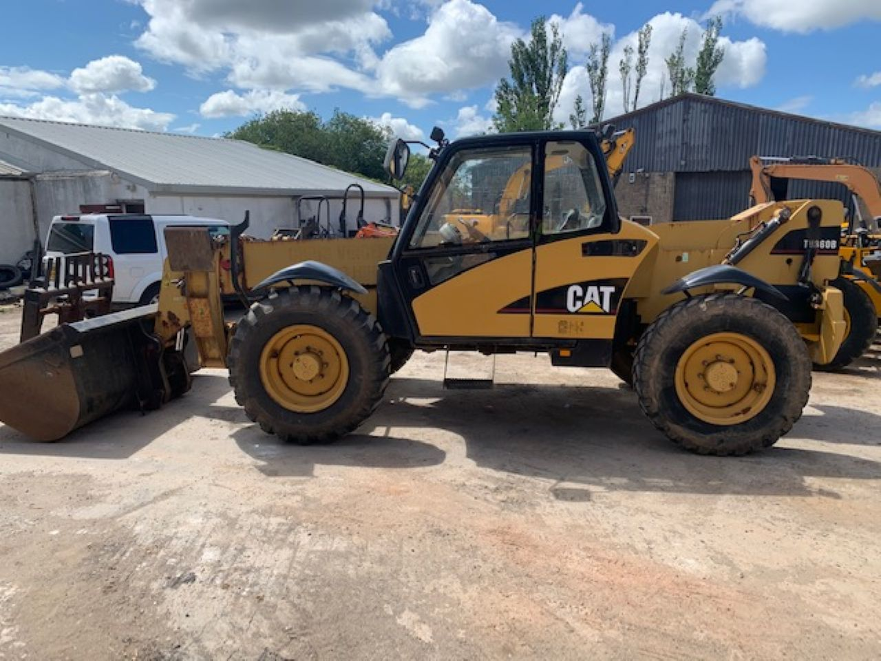 CAT TH360B TELEHANDLER - Picture 3
