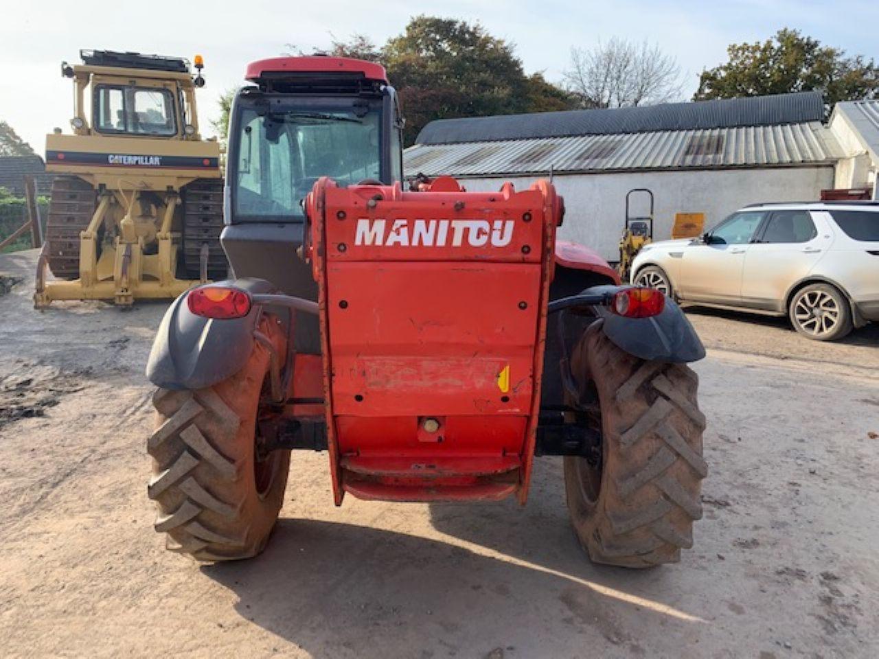 MANITOU MT1436R PRIVILEGE TELEHANDLER - Picture 3
