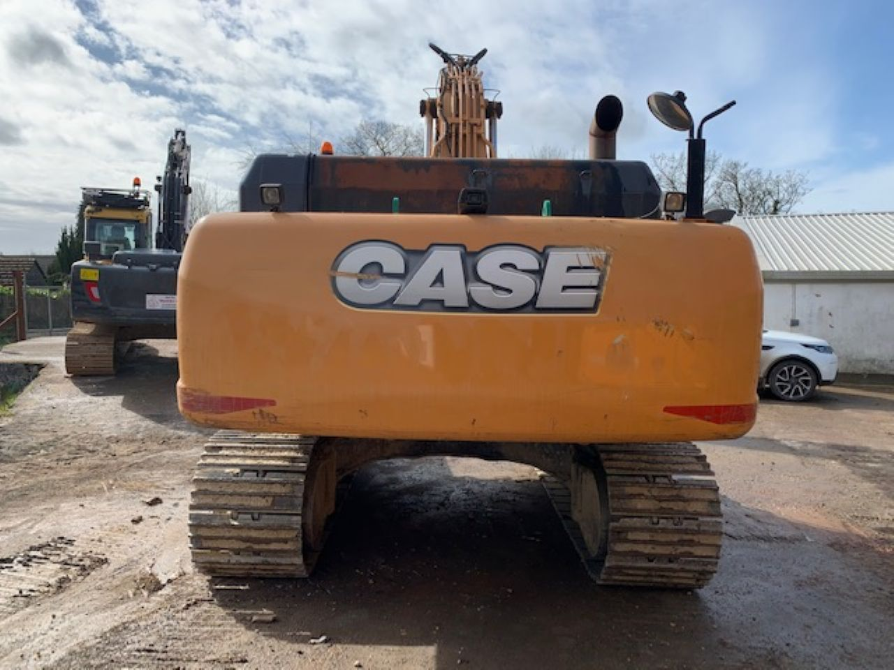 CASE CX350C EXCAVATOR - Picture 2