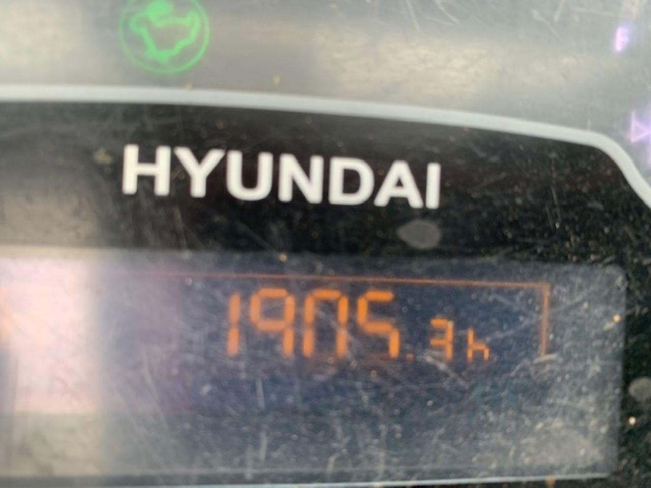 HYUNDAI ROBEX R30Z MINI DIGGER - Picture 9