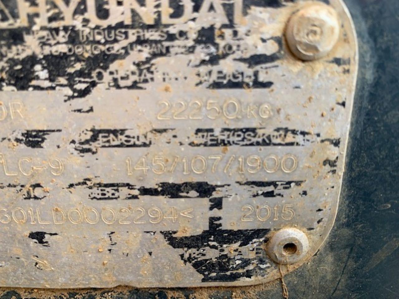HYUNDAI R210LC-9 EXCAVATOR - Picture 7